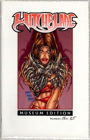 Witchblade #10 Museum Edition Michael Turner Cover Ltd 25 Jay Company Comics