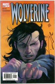 Wolverine #1 Dynamic Forces Signed Darick Robertson DF COA Ltd 1974 Marvel comic book