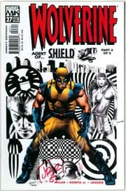 Wolverine #27 Dynamic Forces Signed John Romita Jr DF COA Ltd 25 Marvel comic book