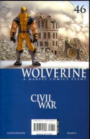 Wolverine #46 Civil War Marvel comic book