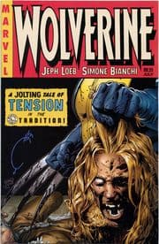 Wolverine #55 Sabretooth Variant Signed Joe Quesada Wizard COA