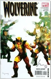 Wolverine #59 Dynamic Forces Signed Howard Chaykin DF COA Ltd 29 Marvel comic book