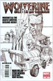 Wolverine #66 Third 3rd Print Sketch Variant (2008) Old Man Logan Movie Marvel comic book
