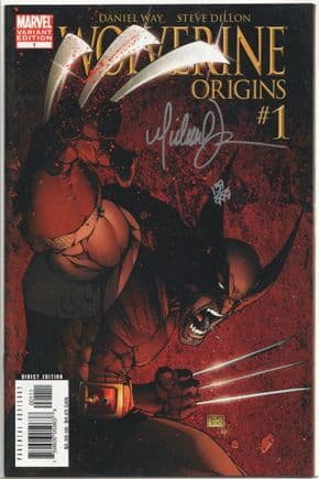 Wolverine Origins #1 Variant Dynamic Forces Signed Michael Turner DF COA Ltd 999 Marvel comic book