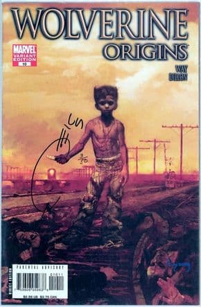 Wolverine Origins #10 Variant Dynamic Forces Signed Joe Quesada COA #3 Ltd 50 1st App Daken Marvel