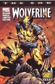 Wolverine The End #1 Wizard World Texas Convention Variant Marvel comic book