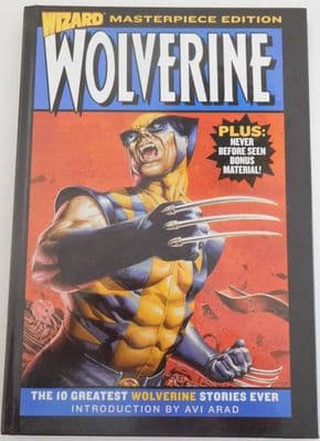Wolverine Wizard Masterpiece Edition Limited Deluxe Hardcover Book Marvel Comics