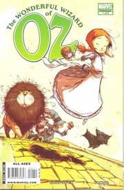 Wonderful Wizard Of Oz #1 (2008) Marvel comic book