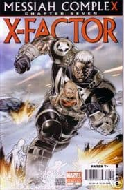 X-Factor #26 2nd Print Variant Messiah Complex Chapter 7