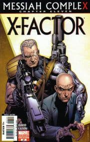 X-Factor #27 Retail Incentive Variant Messiah Complex Chapter 11