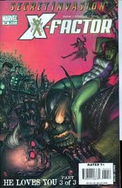 X-Factor #34 (2008) Secret Invasion Marvel comic book