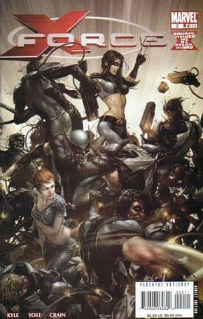 X-Force #2 1st First Print (2008) Marvel comic book