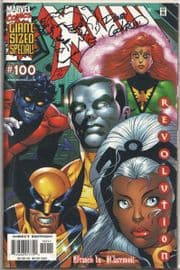X-Men #100 Variant Dynamic Forces Signed Dave Cockrum Remarked Nightcrawler Sketch DF COA Marvel