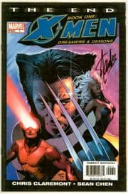 X-Men The End Book One #1 Dynamic Forces Signed Stan Lee COA DF Marvel comic book