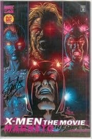X-Men The Movie Magneto Prequel Dynamic Forces Signed Stan Lee DF COA Marvel comic book