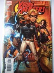 Young Avengers Special #1 Dynamic Forces Signed Allan Heinberg DF COA Ltd 249 Marvel comic book
