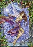 Frost Faerie- by Briar - yuletide midwinter greetings card