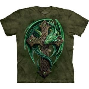 The Mountain- Anne Stokes Woodland Guardian T-shirt