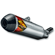 07-15 SX-F F4.1 RCT ALU CARBON FMF 045558 FACTORY SILENCER