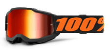 100% Accuri 2 Youth Goggle Chicago / Red Mirror Lens