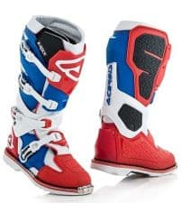 Adult Acerbis X-Rock Boots RED/ WHITE