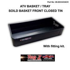 ATV Basket Tray Solid Front STORAGE Grizzly Polaris CAN-AM Utility Quad Steel