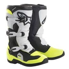 BOOT TECH 3S YOUTH BK/WH/FLO