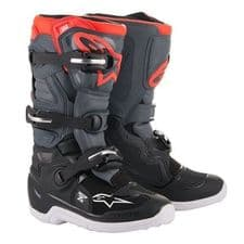 BOOT TECH 7S BLK/DRK GRY/RED FLO