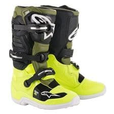 BOOT TECH 7S YEL FO/MIL GRN/BLK
