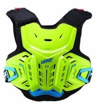 CHEST PROTECTOR 2.5 LIME/BLUE JUNIOR