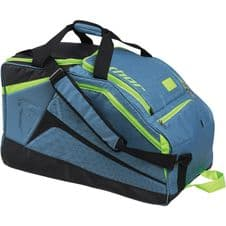 Circuit Bag - steel / flo-green - large holdall 27 x 14 x 16 inch's