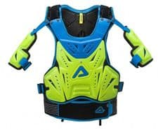 Cosmo MX 2.0 Chest Protector Flo Yellow/Blue