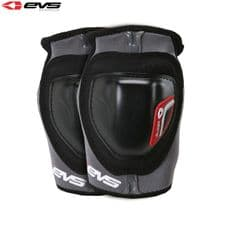 EVS Glider Elbow Guards Adult (Black/Red) Pair (Optional Sizes)