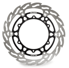 Moto-Master Brake Disc Flame Front Floating 270mm Oversize YZ125/250 08-ON, YZF250 07-ON, YZF450 08-