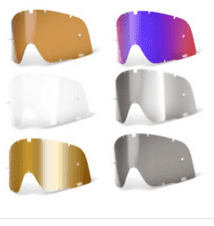 NEW 2020 Adult 100% Barstow Replacement Goggle Lens Motocross Enduro All Styles