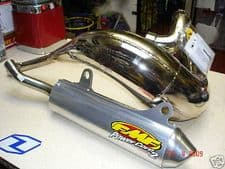New FMF Fatty PC2 Exhaust System YZ 125 05-20 Front Rear Pipe