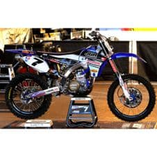 New Nstyle JGR Team Graphics Sticker Kit YZF 250 10-13 BLK Backgrounds