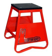 New TAG-Z HEAVY DUTY STEEL BOX STAND RED CR CRF Motocross Enduro