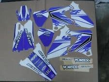 New YZF 250 400 426 98 99 00 01 02 PTS5 Graphics Sticker Decals Kit Motocross