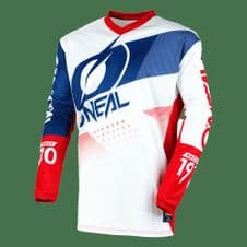 O`Neal ELEMENT Jersey Pants Kit FACTOR white/blue/red