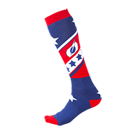 O`Neal Pro MX Sock STARS red/blue (One Size)