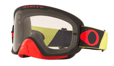 Oakley O Frame 2.0 Pro MX Goggle (Tuff Blocks Yellow/Red) Clear Lens