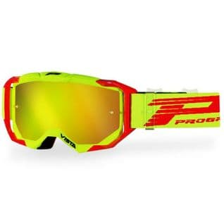 PRO GRIP VISTA GOGGLES 3303 RED/YELLOW MULTILAYERED LENS