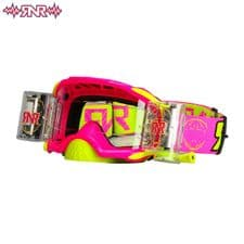 RNR Goggle Platinum WVS (Neon Pink) Roll Off