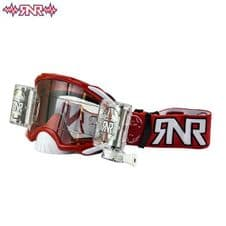 RNR Goggle Platinum WVS (Red) Roll Off