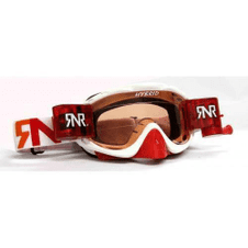 SALE Adult Rip N Roll RNR Hybrid White Red Fully Loaded Roll Off Goggles GH225