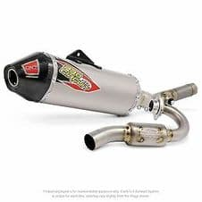 T-6 Stainless System W/Ti Canister and carbon end cap, KTM450SX-F '16-1/2, 450SX-F
