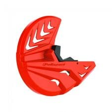 FRONT DISC AND BOTTOM FORK PROTECTOR KTM/HUSKY SX/F 03-14, EXC/F 03-15, TC/FC 2014, TE/FE 14-15 ORA