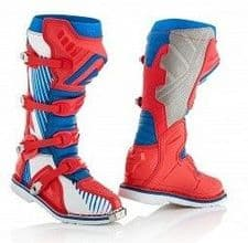 X-PRO V Boot Blue/Red