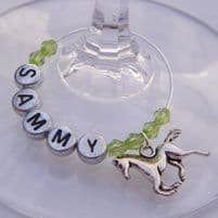 Horse Wine Glass Charms